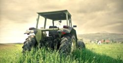 Abandoned Tractor in Field | Improving Safety on Farms for Farm Safety Week