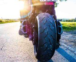 Back of Motorbike
