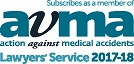 AVMA Lawyers Service Logo | Our credentials | Hudgell Solicitors