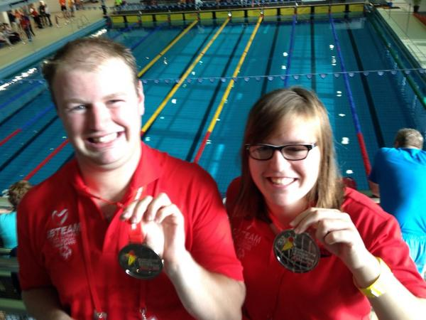 Swimming winners