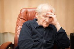 Elderly man in care home | Elderly people at risk from care home abuse and neglect