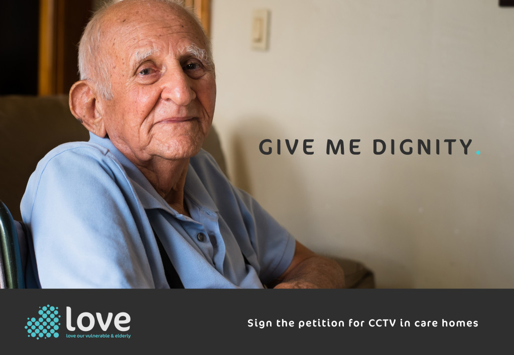 Give me dignity advert
