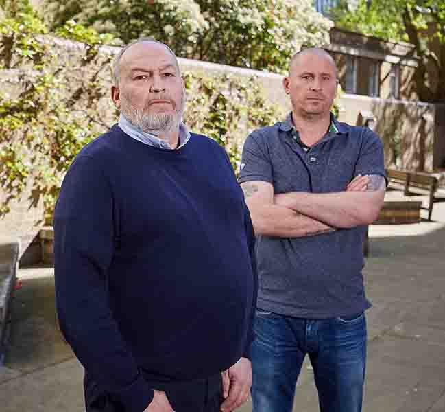 Grant Lunn and Gary Baker