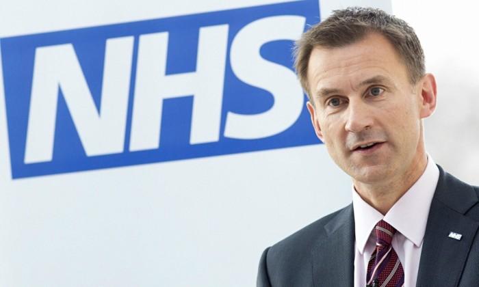 NHS Jeremy Hunt
