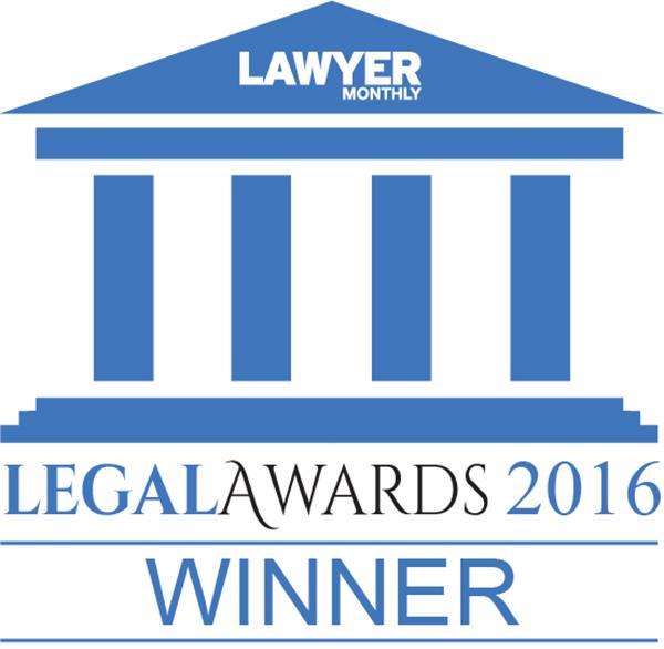 Legal Awards 2016 Winner Logo