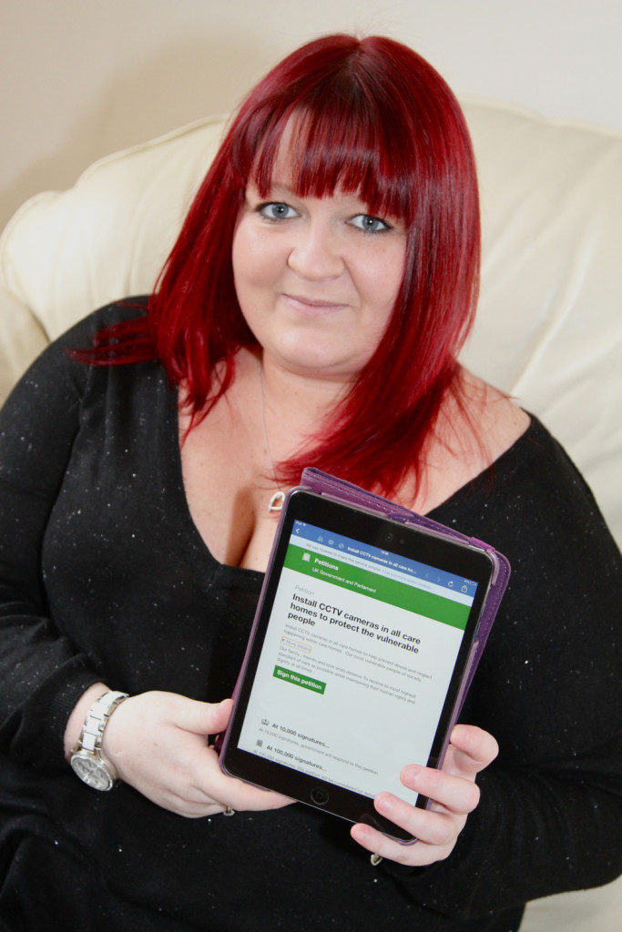 Lisa Smith starts e-petition for CCTV in Care home