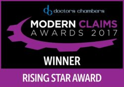 Modern Claims Awards 2017 Winner Rising Star
