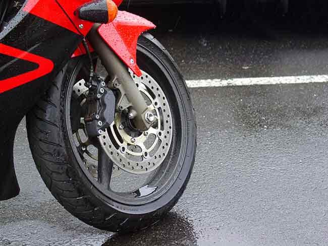 Motorbike rain