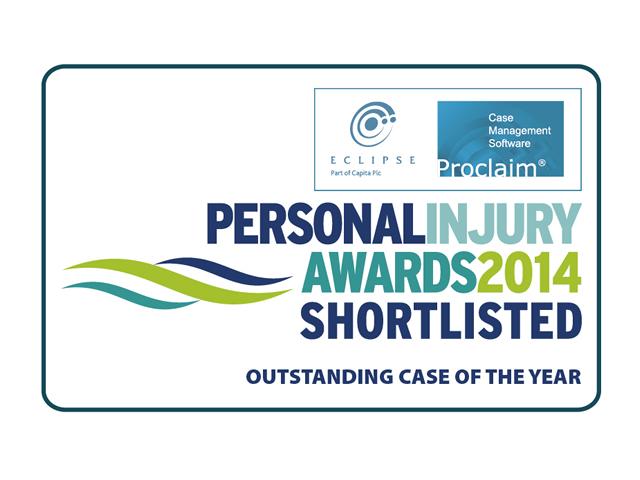 Personal Injury awards 2014 shortlist logo