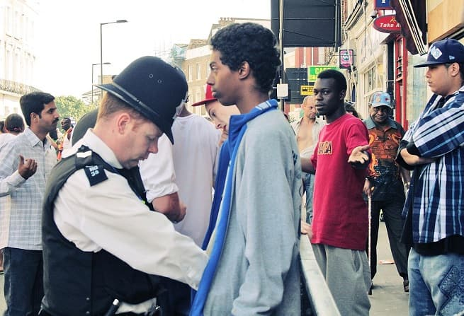 Police stop and search   Complaints against the police