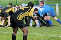 Rugby players in scrum | Head Injuries and Concussion in Sport