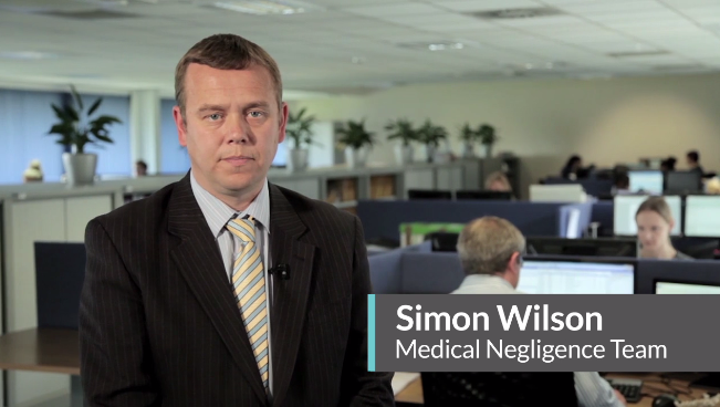 Simon Wilson - Medical Negligence