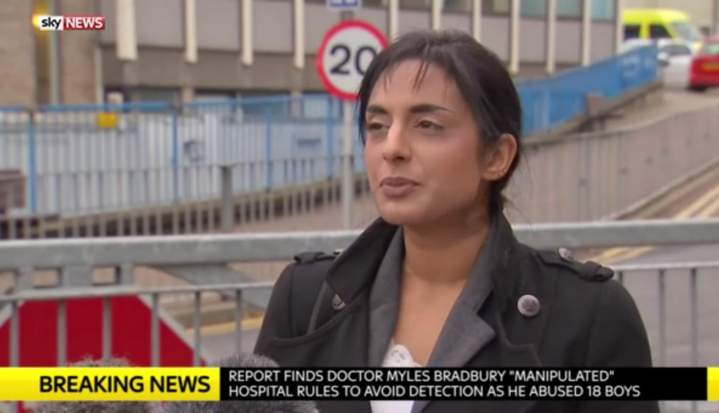 Renu Daly on Sky News
