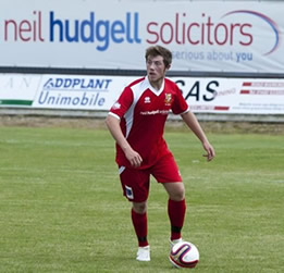 Bridlington Town footballer