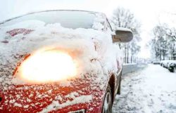 car-light-snow-weather