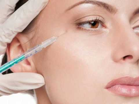 woman face injection