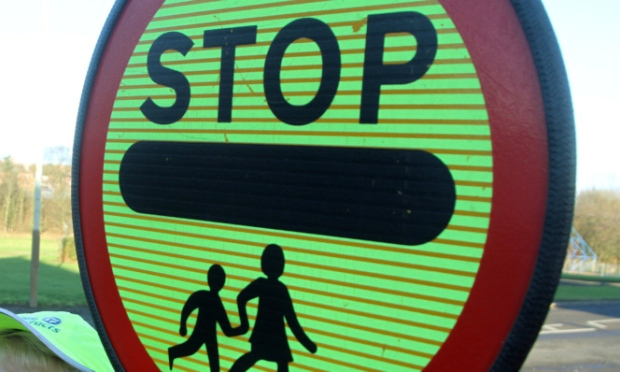 stop sign children