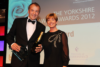 Neil Hudgell at Yorkshire lawyer awards winner