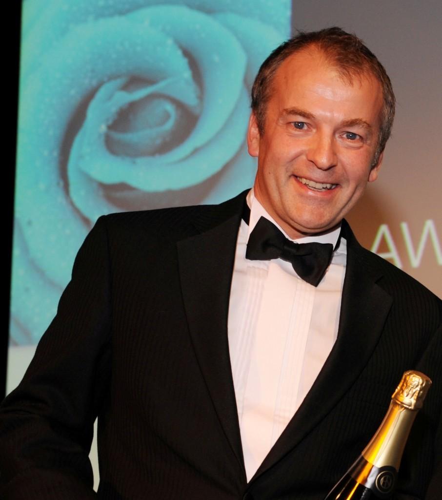 Neil Hudgell at awards