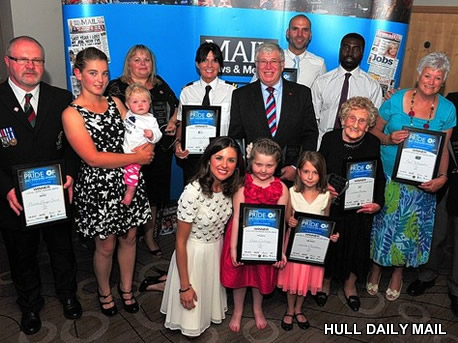 Hull Daily mail Pride awards