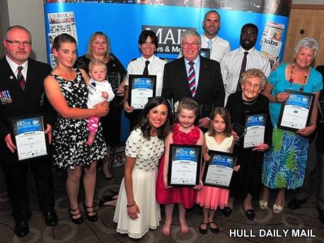 Hull Daily mail Pride awards