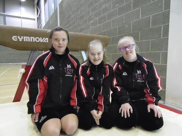 Trust sponsor gymnasts